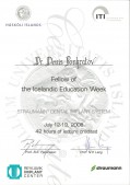 Fellow of the Icelandic education week